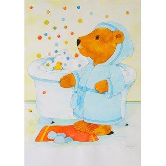 Tableaux pour enfants - Tableau -Bathroom- - Kaempf, Christian