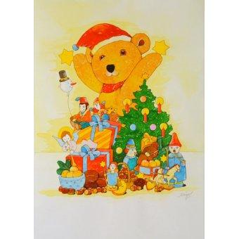 Tableaux pour enfants - Tableau -Christmas Tree- - Kaempf, Christian