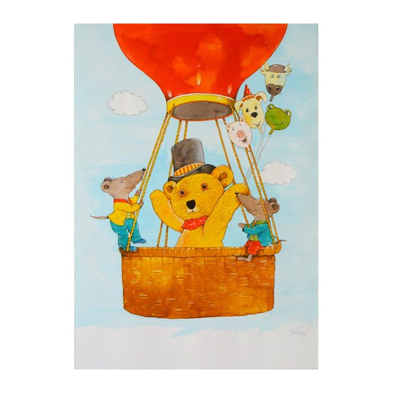 Tableau -In the Balloon-
