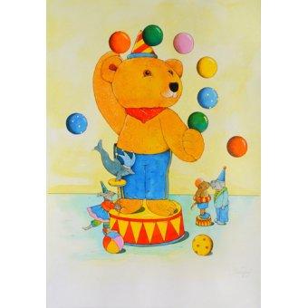 Tableaux pour enfants - Tableau -Circus- - Kaempf, Christian