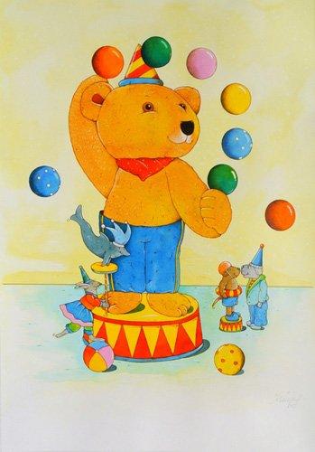 tableaux-pour-enfants - Tableau -Circus- - Kaempf, Christian