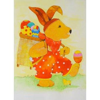 Tableaux pour enfants - Tableau -Easter- - Kaempf, Christian