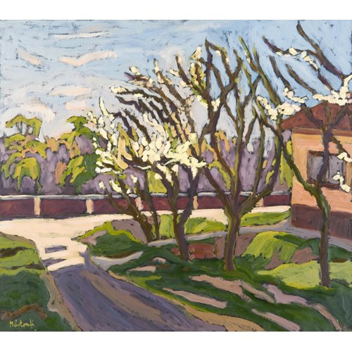 Tableau - In Spring Light, 2008 (oil on board) -