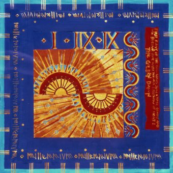 Tableaux orientales - Tableau -Millennium 'Golden Dawn'- - Manek, Sabira