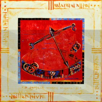Tableaux orientales - Tableau -Millennium 'Scales'- - Manek, Sabira
