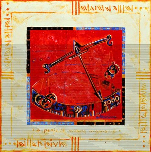 tableaux-orientales - Tableau -Millennium 'Scales'- - Manek, Sabira
