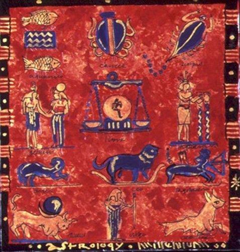 tableaux-orientales - Tableau -Astrology- - Manek, Sabira
