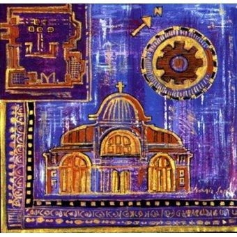 Tableaux orientales - Tableau -Architecture 'Insert'- - Manek, Sabira