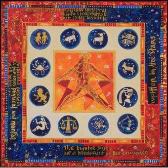 Tableaux orientales - Tableau -Astrology, 1999- - Manek, Sabira