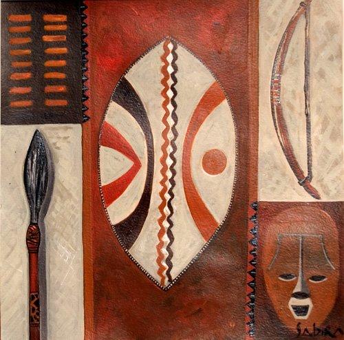 tableaux-orientales - Tableau -Tulivu, 2007- - Manek, Sabira