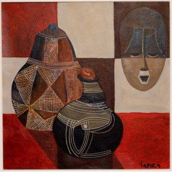 Tableaux orientales - Tableau -Nywa, 2007- - Manek, Sabira