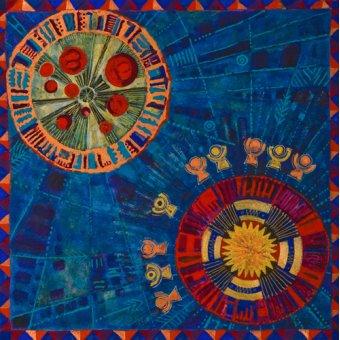 Tableaux orientales - Tableau -Sunfan 2, 2008- - Manek, Sabira