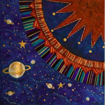 Tableaux orientales - Tableau -Sunfan 1, 2008- - Manek, Sabira