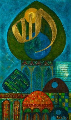 tableaux-orientales - Tableau -Jabari, 2008- - Manek, Sabira