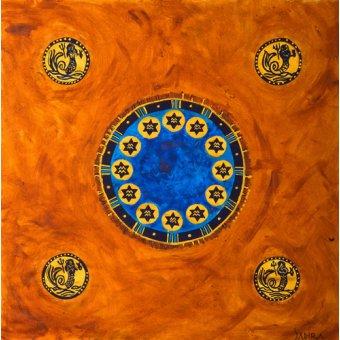 Tableaux orientales - Tableau -Neptune, 2008- - Manek, Sabira