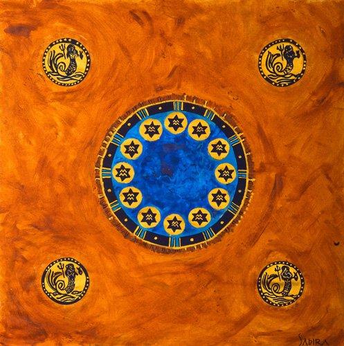 tableaux-orientales - Tableau -Neptune, 2008- - Manek, Sabira