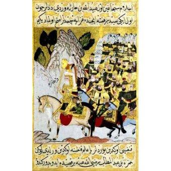 Tableaux orientales - Tableau -Miniatura de la copia original del Siyer-i-Nabi/1594-95- - _Anónimo Islámico