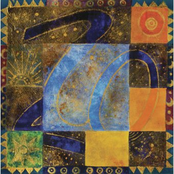 Tableaux orientales - Tableau -80-20, 2009- - Manek, Sabira