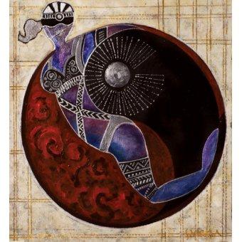 Tableaux orientales - Tableau -Aries-Libra, 2009- - Manek, Sabira