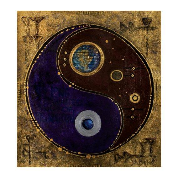 Tableau -Gemini-Sagitarius, 2009 -