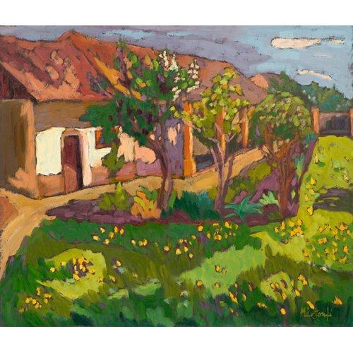 Tableau -Garden in May, 2012 (oil on board)-
