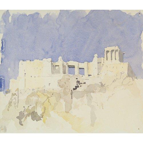Tableau -Acropolis, Athens, 1994 (w.c on paper)-