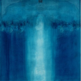 Tableaux abstraits - Tableau -Untitled blue painting, 1995 (oil on canvas)- - Millar, Charlie