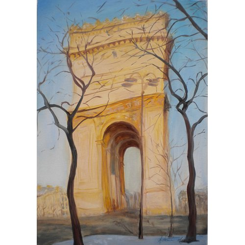 Tableau -Arc de Triomphe, 2010-