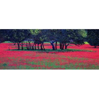 TABLEAUX POUR CHAMBRE À COUCHER - Tableau -Red Shock, 1999- - Neal, Trevor