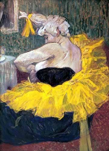 tableaux-de-personnages - Tableau -La payasa Cha-u-Kao- - Toulouse-Lautrec, Henri de