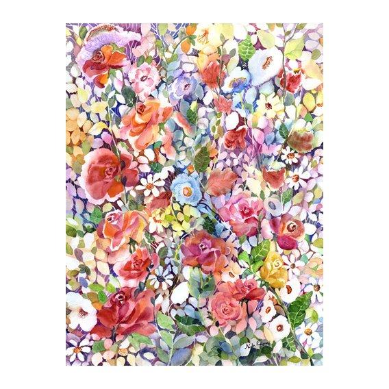 Tableau - Roses do Ramble -