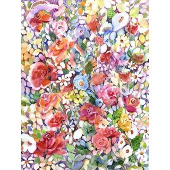 Tableaux de Fleurs - Tableau - Roses do Ramble - - Pushparaj, Neela