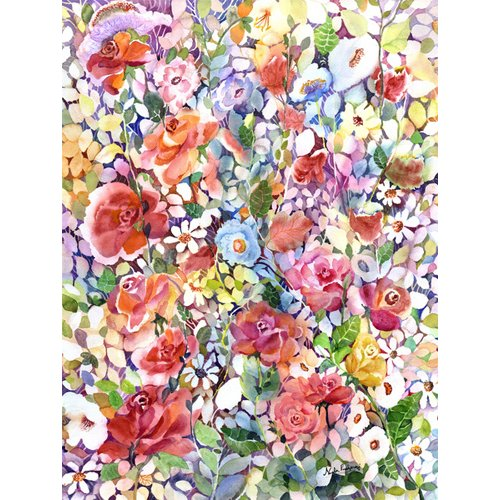 Tableau - Roses do Ramble -