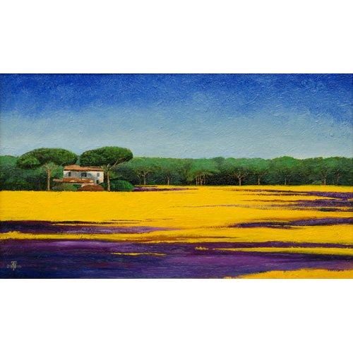 Tableau -Tuscan Landcape, 2010-