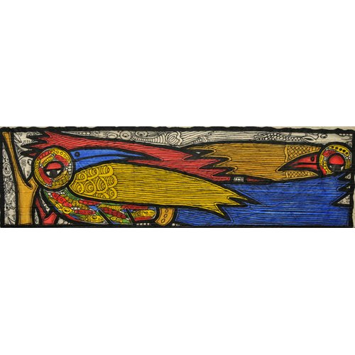 Tableau -Courting Birds-