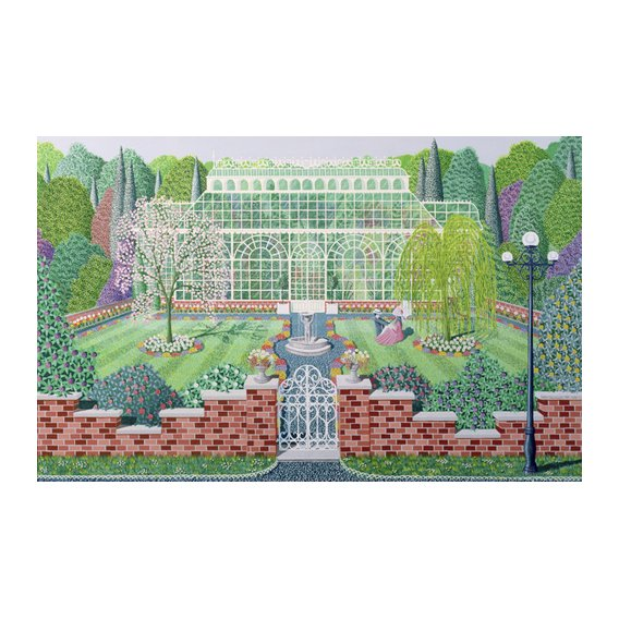 Tableau - The Greenhouse in the Park -
