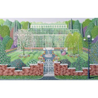 Tableaux de paysages - Tableau - The Greenhouse in the Park - - Szumowsky, Peter
