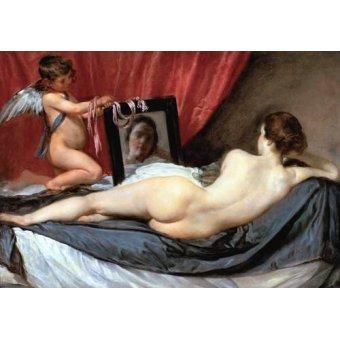 Tableaux de Nus - Tableau -Venus delante del espejo- - Velazquez, Diego de Silva