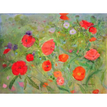 Tableaux de Fleurs - Tableau -Arpeggiando, 1998- - Patrick, Ann