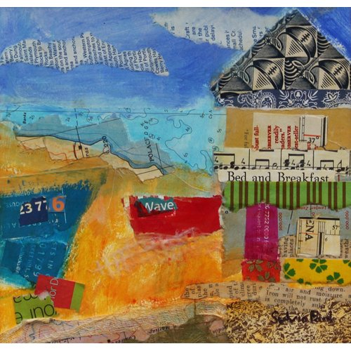 Tableau - B&B by the Sea 2013, acrylic.paper collage-