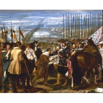 - Tableau -Rendición de Breda (Las lanzas)- - Velazquez, Diego de Silva