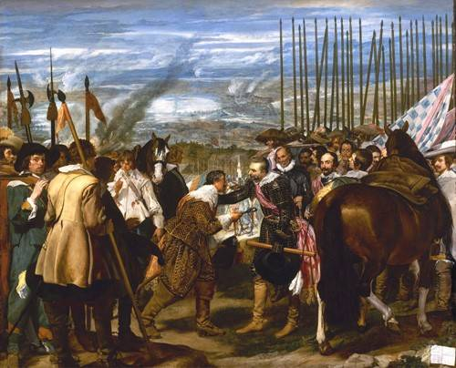 tableaux-de-personnages - Tableau -Rendición de Breda (Las lanzas)- - Velazquez, Diego de Silva