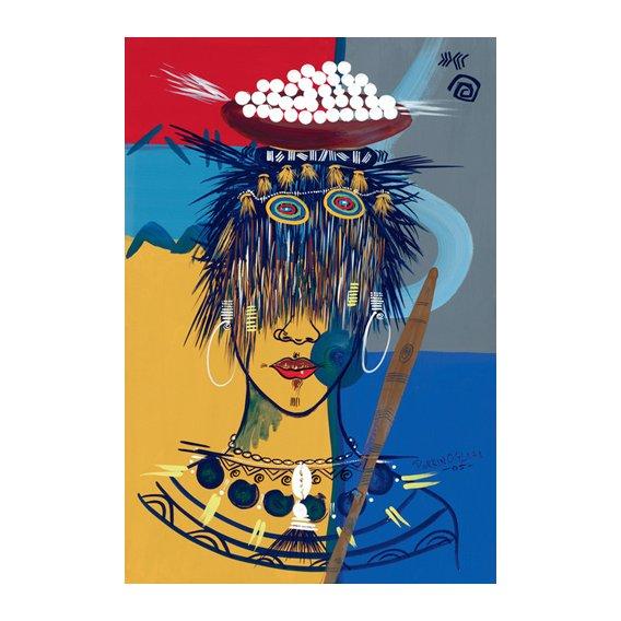 Tableau -African Beauty 3, 2005-