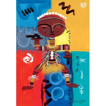 Tableaux orientales - Tableau -Ashanti, 2004- - Perrin, Oglafa Ebitari