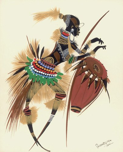 tableaux-orientales - Tableau -Her Rhythm and Blues, 2010- - Perrin, Oglafa Ebitari