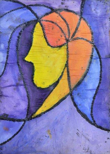 tableaux-abstraits - Tableau -Camille- - Pontes, Guilherme
