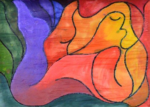 tableaux-abstraits - Tableau -Recumbent- - Pontes, Guilherme