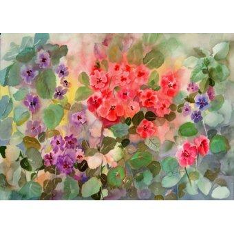 Tableaux de Fleurs - Tableau - easter parade- - Pushparaj, Neela
