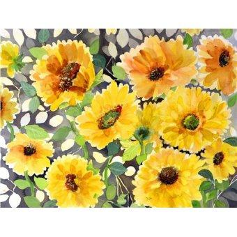 Tableaux de Fleurs - Tableau - girasol- - Pushparaj, Neela