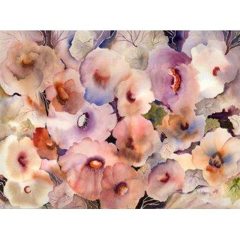 TABLEAUX POUR CHAMBRE À COUCHER - Tableau - floral dreams- - Pushparaj, Neela